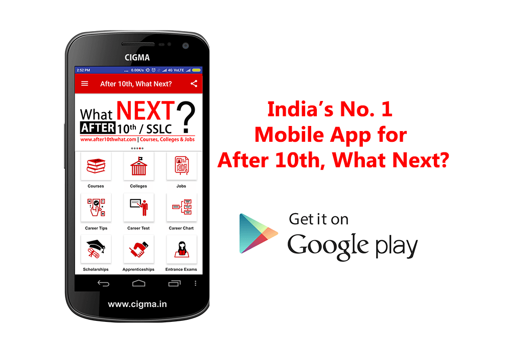 After 10th what next app